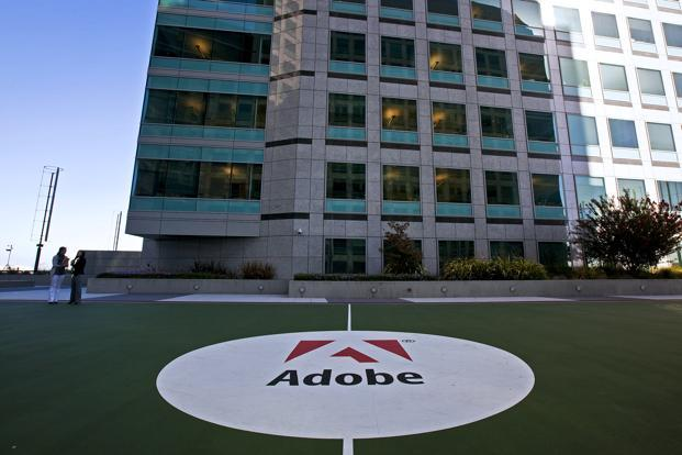 Adobe said that a lot of its intellectual property gets created out of India. Photo: Bloomberg