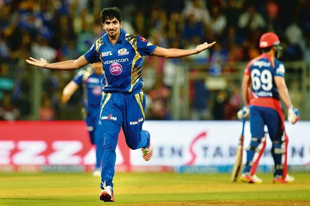 Jasprit Bumrah bowled a miserly Super Over against Gujarat. Photo: AFP