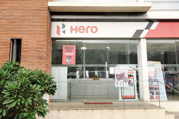 Hero MotoCorp's sales skidded 3.5% to 591,306 units in April.