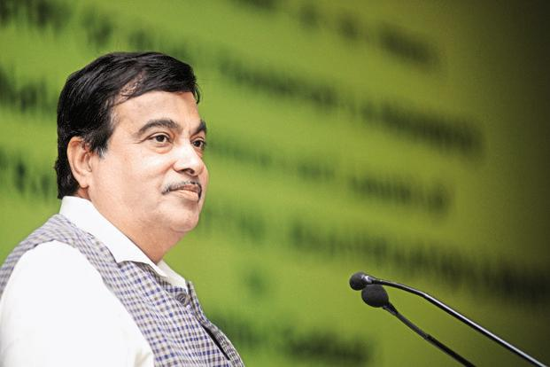 Nitin Gadkari, minister for road transport and highways, said the IITLS 2017 is the first step to the government's aim to have an effective multimodal logistics and transport sector to make Indian economy more competitive. File photo: Mint