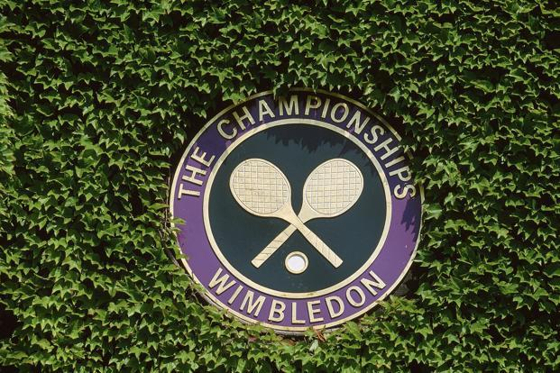 Wimbledon takes place on the fringes of south-west London from 3-16 July: the latest start for the tournament since 1895.  Photo: Getty Images