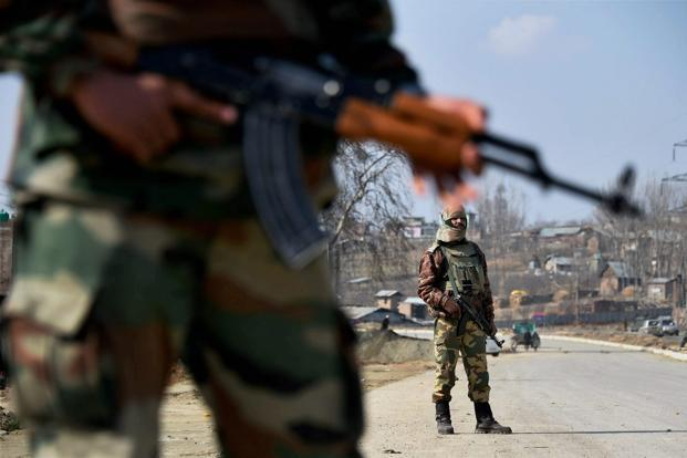 The operations have been launched in six villages falling under Zainapora area in Shopian after security forces received information about movement of militants there. Photo: PTI