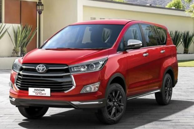 The Toyota Innova Touring Sport comes with many features including seven airbags, vehicle stability control and hill-start assist control.