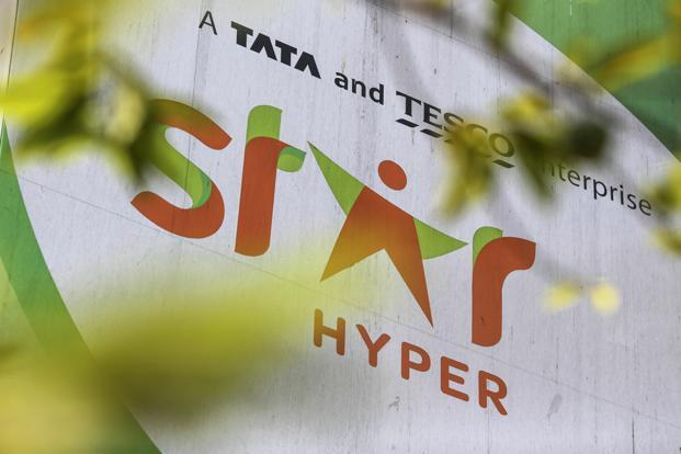Trent Hypermarket, running Star Bazaars, currently stocks herbal and organic products from companies such as Patanjali Ayurved, Sri Sri Ayurveda Trust, Hindustan Unilever and Dabur India. Photo: Bloomberg