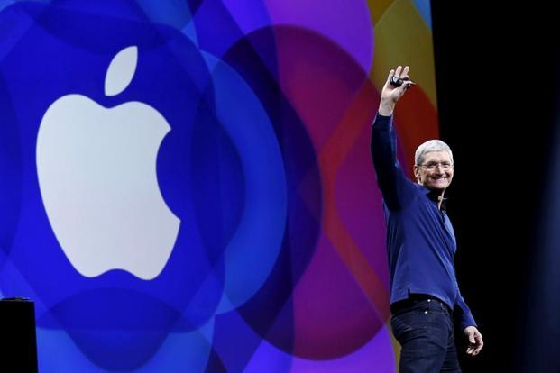 In February during the company's annual shareholder meeting, Tim Cook said Apple spent $50 billion in 2016 with its US suppliers, which include firms like 3M Co and Corning Inc, the first time Apple has disclosed the metric. Photo: Robert Galbraith/Reuters