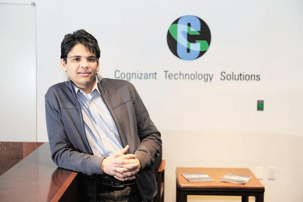 Francisco D'Souza, chief executive of Cognizant Technology Solutions Corp. Photo: AFP