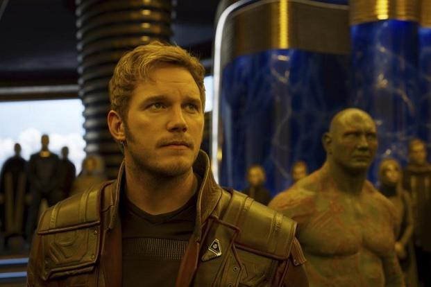A still from 'Guardians of the Galaxy Vol. 2'.