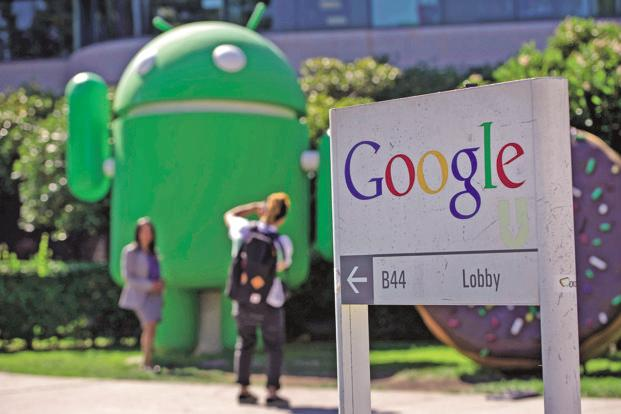 Google (Alphabet Inc.) and Facebook made $79.4 billion and $26.9 billion, respectively, in advertising revenue  in 2016. Photo: Bloomberg
