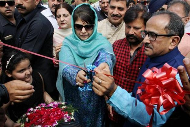 Only PM Modi can save us from Kashmir unrest: Mehbooba Mufti