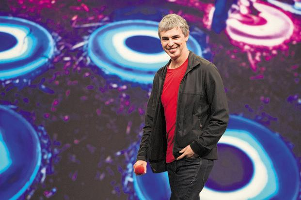 Alphabet Inc. CEO Larry Page. Photo: Bloomberg