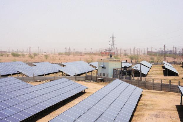 India's solar programme is heavily dependent on imported solar cells and modules, mainly from China. Photo: Ramesh Pathania/Mint