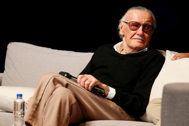 Stan Lee is the creator of Spider-Man, The Fantastic Four and X-Men. Photo: Demian Chavez/Reuters