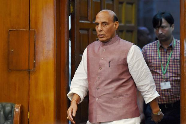 Rajnath calls for 'unity of purpose' to tackle Naxals