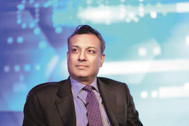 Sumant Sinha, founder of the Goldman Sachs-backed ReNew Power Ventures which is planning to launch an initial public offering (IPO) soon. Photo: Pradeep Gaur/Mint