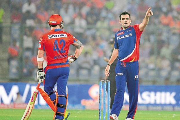 With four wins and seven losses, Zaheer Khan-led Delhi Daredevils have been hugely inconsistent in the IPL 2017 season. Photo: AFP