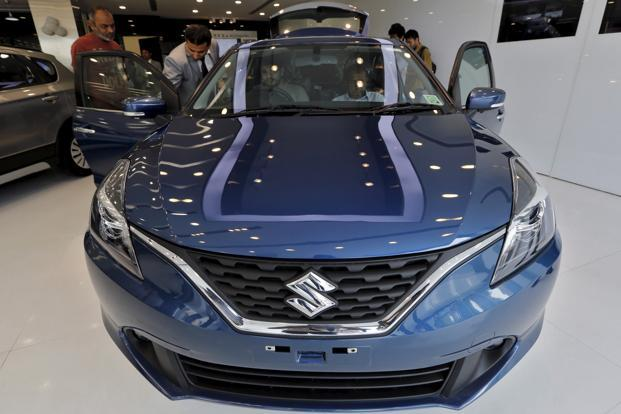 Passenger vehicle sales in April rose on the back of hatchbacks such as Maruti Suzuki Baleno and Tata Tiago. Photo: Reuters