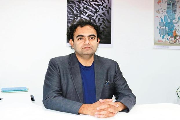Prashant Pradhan, executive director of <a href=