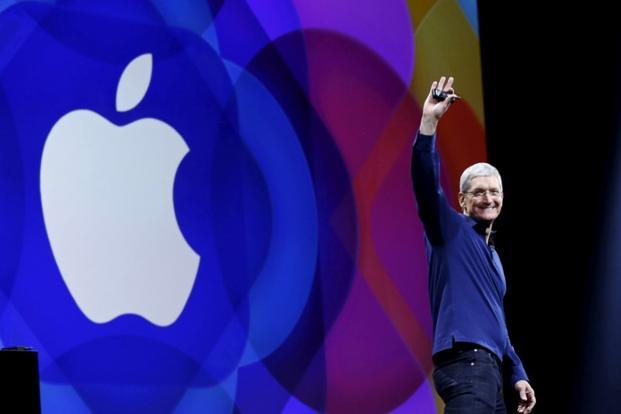 Apple shares have gained 33% since the start of the year, helped by a buyback program that chief executive officer Tim Cook extended to total $210 billion last week, from $175 billion last year. Photo: Reuters