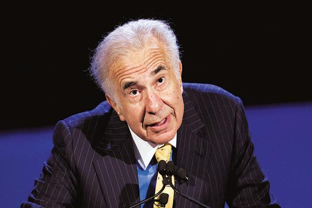 A file photo of Carl Icahn. Photo: AP