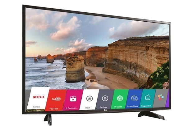 LG's smart LED TV with 49-inch display is available at a flat discount of 28%.