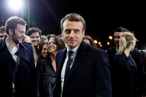 With a short Facebook video, Macron reaffirms French faith in the Paris climate agreement. Photo: Reuters
