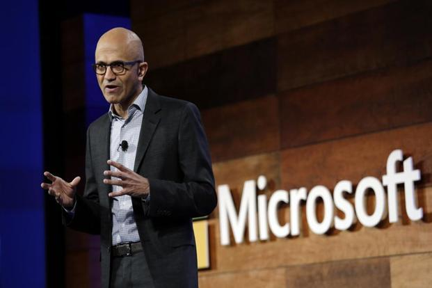 While CEO Satya Nadella pushed the Office and applications business to focus on versions for rival mobile operating systems three years ago, the role of Windows in that new world has been an open question. Photo: AP