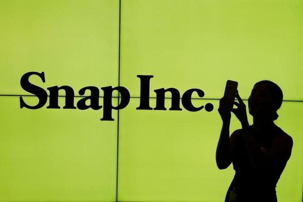 Snap is working to prove that it can attract a dedicated young audience in the competitive social messaging market. Photo: Reuters