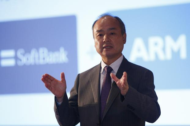 Masayoshi Son spent a lot of time in Wednesday's presentation cherry-picking numbers so he could crow about getting to ¥1 trillion ($8.8 billion) in annual profit.  Photo: Reuters