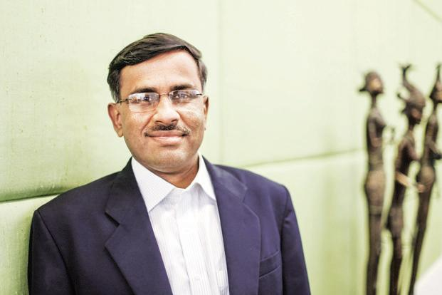 Vikram Limaye's appointment as chief executive officer of the NSE has been held up owing to the market regulator's concerns about this dual role. Photo: Bloomberg
