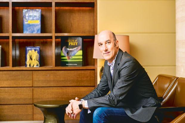 George Kembel says his current mission is to raise a global fund to unleash the creative potential of every human being on the planet.  Photo: Aniruddha Chowdhury/Mint