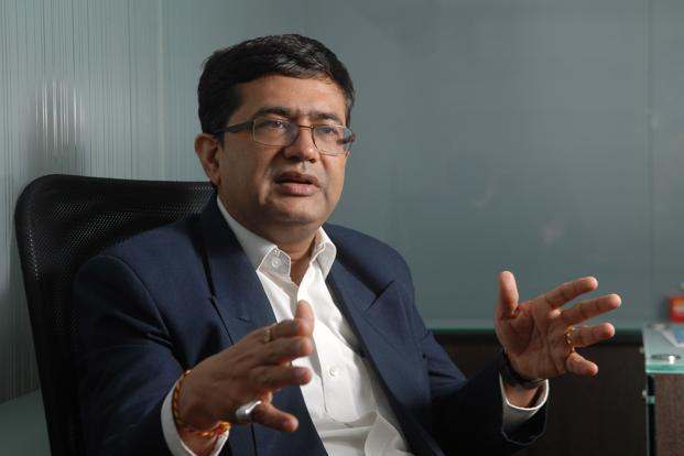A file photo of BSE CEO Ashishkumar Chauhan. Photo: Hemant Mishra/ Mint