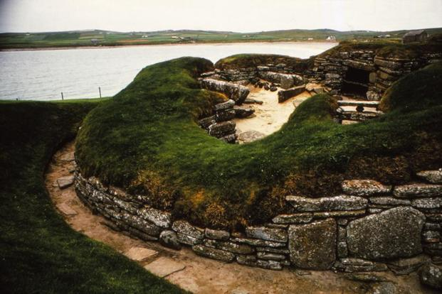 A Unesco World Heritage Site, Skara Brae is a neolithic village in Scotland. Photo: Getty Images