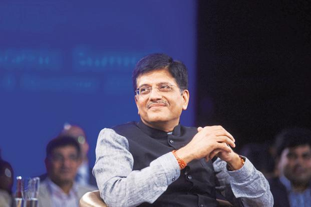A file photo Power minister Piyush Goyal. Photo: Ramesh Pathania/Mint
