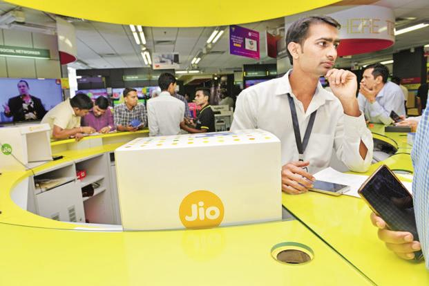 In September, Jio stormed into the telecom market with free voice and data services, forcing established operators to slash rates. Photo: Aniruddha Chowdhury/Mint