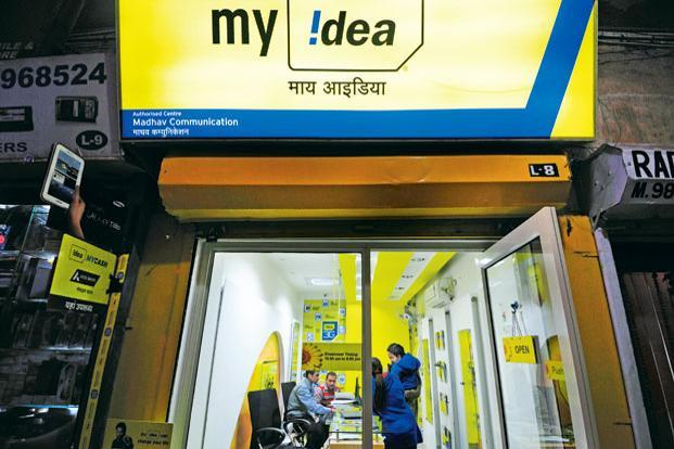 Idea shares fell more than 6% on Monday, giving up all of their gains post Bharti Airtel's results announcement. Photo: Pradeep Gaur/Mint