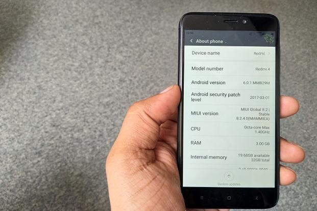 Redmi Note 4 runs Android 6.0 with the latest MIUI 8