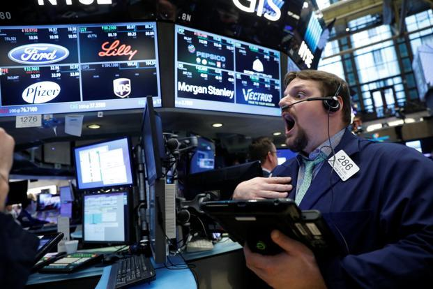 Spurt in oil prices sends US stock indexes to record highs