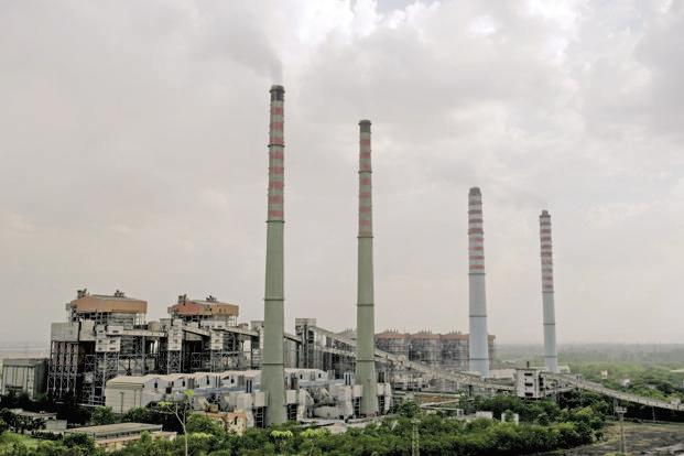 A file photo of a thermal power plant. Declining solar power tariffs, which last week dropped to a record low, will have an impact on prices of electricity from other fuel sources. Photo: Mint