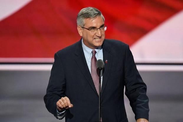 Eric Holcomb, who would be the first Indiana governor to visit India, said he would be looking to grow Indiana's presence and strengthen its friendship and partnership with companies headquartered in India. Photo: AFP
