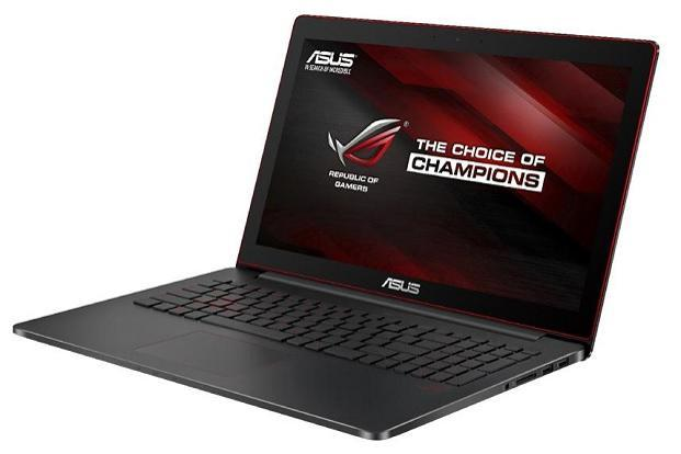 Asus ROG G501VW's biggest draw is the 15.6-inch 4K display (3,840x2,160p).