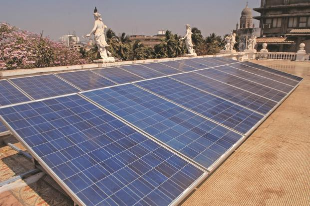 In June 2015, the government increased its solar power target from 20,000 MW to 100,000 MW by 2022. Photo: Mint