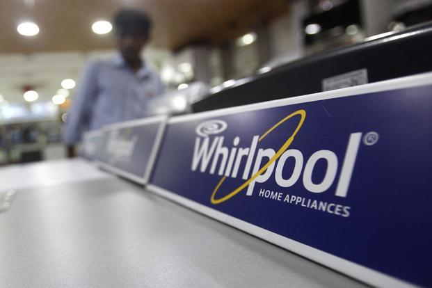 Whirlpool's total income during the March quarter stood at Rs1,131.1 crore. Photo: Reuters