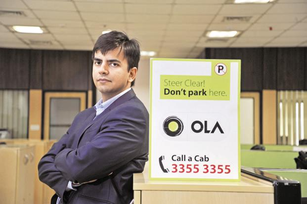 Ola will issue additional shares to Ola founders Bhavish Aggarwal (in photo) and Ankit Bhati to keep their composite shareholding in ANI Technologies at between 10.9% and 12.38%. Photo: OnlyPix/Mint