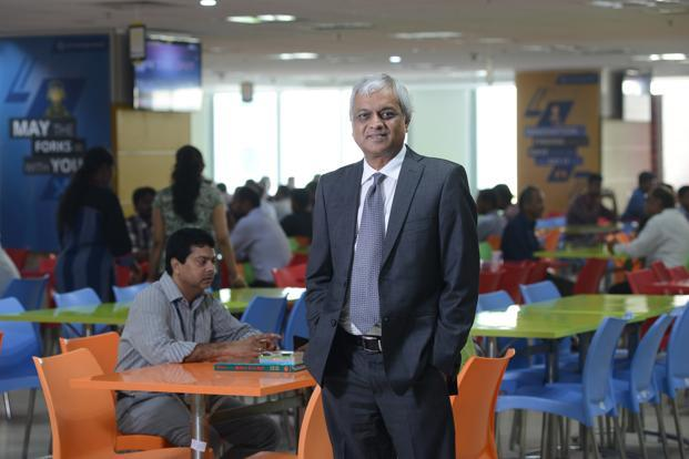 Paneesh Rao, chief HR officer at L&T Technology Services that has a total headcount of over 11,000 employees across the globe. Photo: Hemant Mishra/Mint
