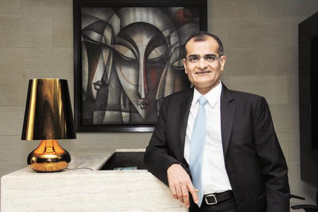 A file photo of Rashesh Shah, chairman and chief executive officer of Edelweiss Financial Services. Photo:  Hindustan Times