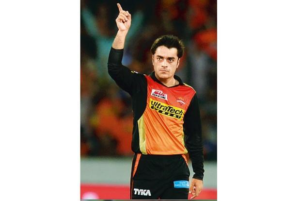 Rashid Khan. Photo: AFP