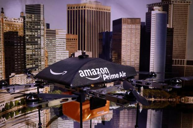Unlike an air-traffic control system used by airlines, Amazon's drone-delivery programme is more complicated as the devices fly at lower heights. Photo: Reuters