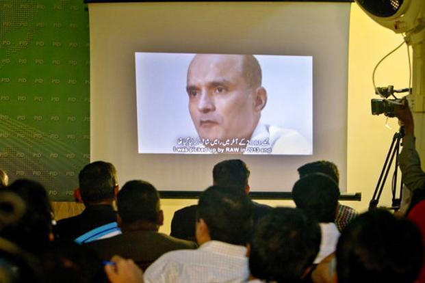 ICJ orders Pakistan to stay Jadhav execution
