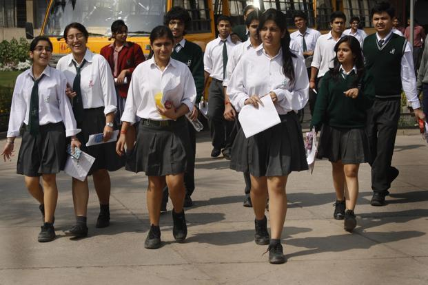 At least 7,51,766 students appeared in Class 10 and 12 exams in Haryana. Photo: Hindustan Times