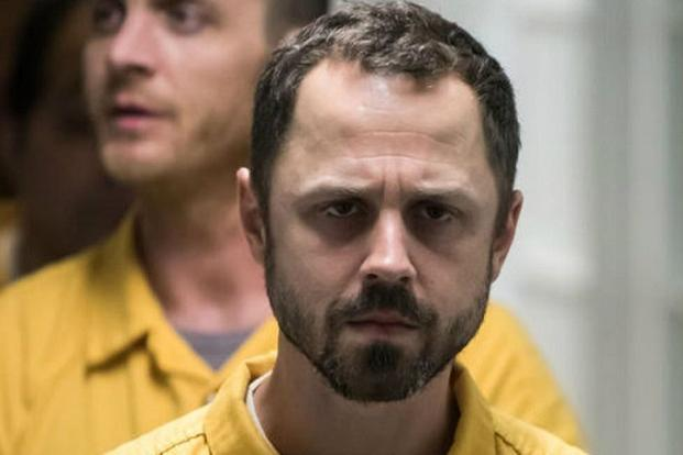A still from 'Sneaky Pete'. Giovanni Ribisi plays the lead character slippery as a weasel, all lies and tics, yet conveys a broken likeability.